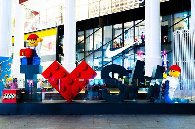 Giant Lego and M&Ms!#shanghai #lego #m&ms #travellingchina #travelphotography